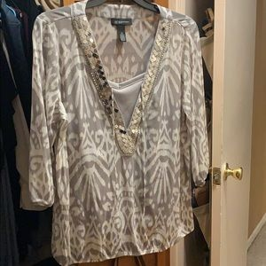 Beautiful INC blouse! Dress up or dress down!